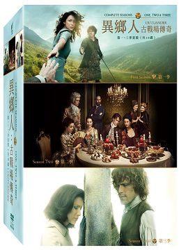 ~停看聽音響唱片~~DVD~異鄉人:古戰場傳奇 1~3季套裝