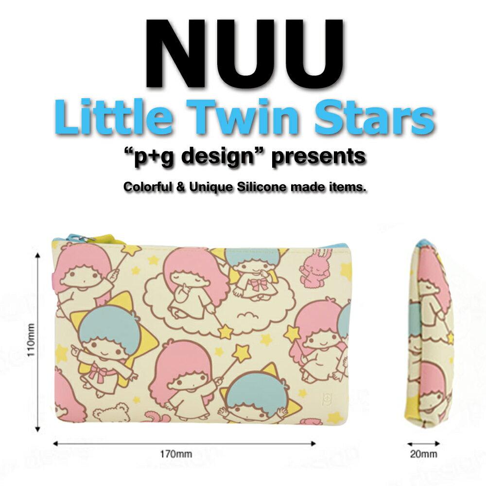 日本空運進口 p+g design NUU X Little Twin Star 2016 繽紛矽膠拉鍊零錢包 2
