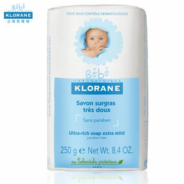 專品藥局 Klorane 蔻蘿蘭寶寶 保濕乳霜皂 250g ( 實體店面票,統一公司貨 )