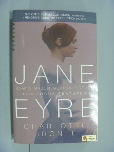 ~書寶 書T8/一般小說_GME~Jane Eyre ^(Movie Tie~in Edi
