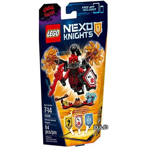 樂高積木LEGO~ LT70338 ~Nexo Knights 未來騎士系列 ~ 終極曼格