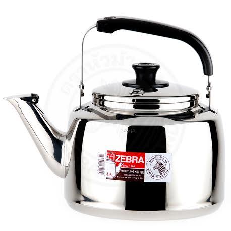 🌟現貨🌟ZEBRA斑馬牌不鏽鋼笛音壺4.5L A型 斑馬牌笛音壺4.5L/2.5L 7.5L 煮水壺 茶壺 琴音壺