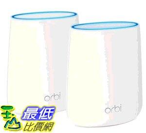 [COSCO代購]  W1218354 Netgear Orbi 高效能AC2200三頻網狀WiFi延伸系統 (RBK22)