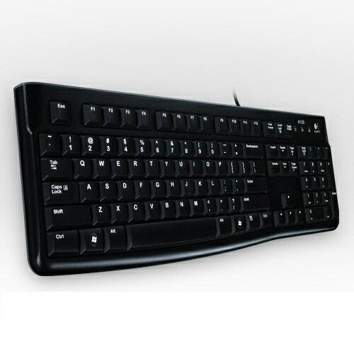 【最高現折$350】Logitech 羅技 K120 USB 有線鍵盤