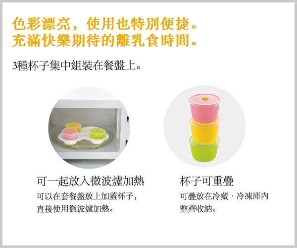 Richell利其爾 - ND 離乳食初期餐具套組 6