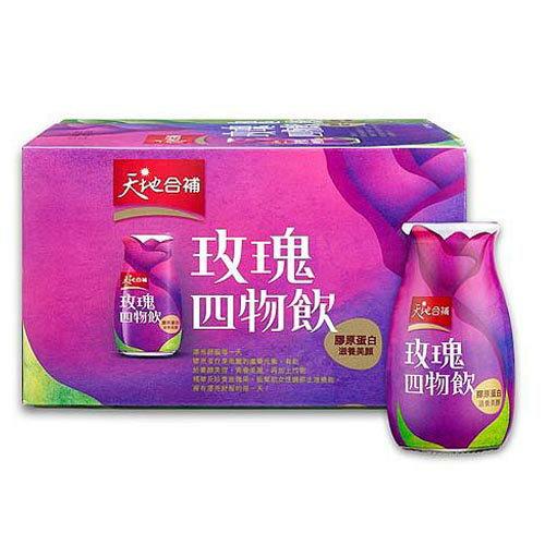 天地合補膠原蛋白玫瑰四物飲120ml*6瓶【愛買】