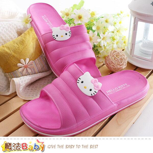 女鞋 Hello kitty 休閒拖鞋 魔法Baby~sk0274