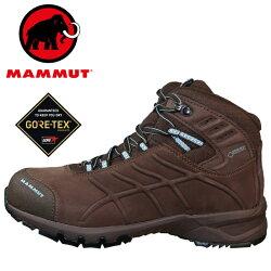 Mammut 長毛象 登山鞋/登山靴/中筒健行鞋 Nova Base Mid GTX® Women 女款 防水登山鞋 3020-04510 咖啡