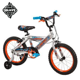 美國HUFFY】2017新款16吋男童自行車Silver(兒童自行車,腳踏車,輔助輪)