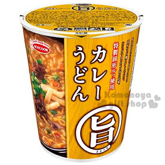〔小禮堂〕日本原產 豬廚AceCook 旨味 杯麵《70g.湯麵》咖哩烏龍味