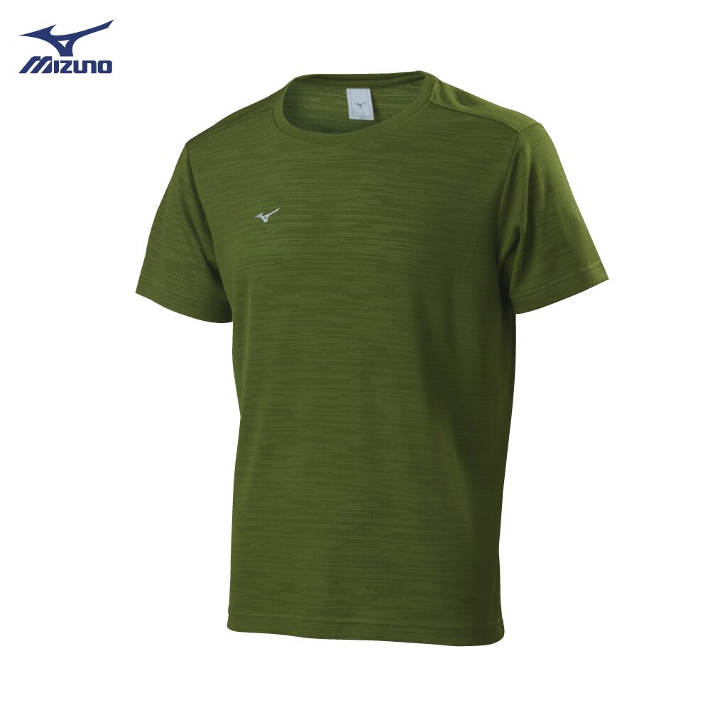 32TA800939(墨綠)合身版型短袖T恤  【美津濃MIZUNO】 0