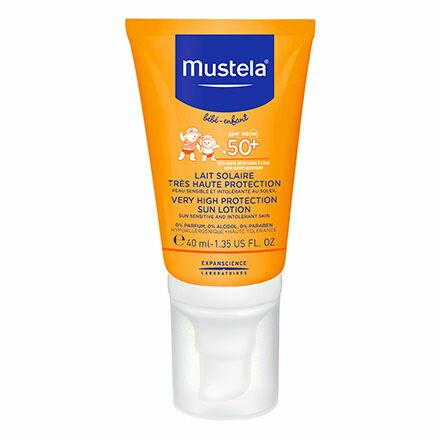 【淘氣寶寶】【Mustela系列滿399,即隨機加贈Mustela系列超值試用體驗】法國慕之恬廊Mustela高效性兒童防曬乳SPF50+【40ml】