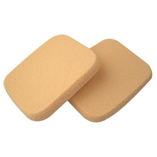 COSMOS A20兩用粉餅海綿 長方形(2入) S30176《Belle倍莉小舖》