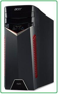 ACERGX-781混碟獨顯電競桌機i5-7400;8GB*1;M.2128G1T;DVDR;CRGTX10502G;FR500WW10HML;USB鍵盤USB滑鼠;DT.B