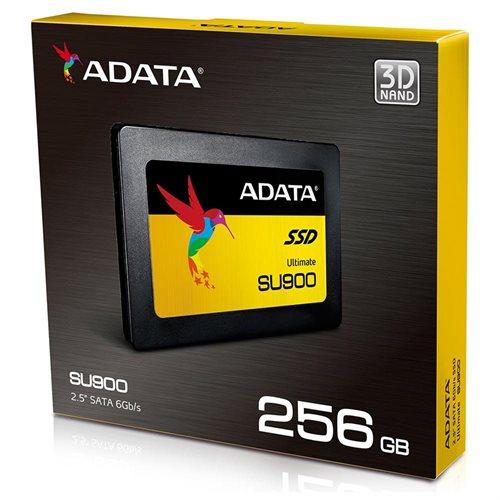 "ADATA Ultimate SU900 3D MLC NAND SATA-III 2.5"" Internal SSD 256GB (ASU900SS-256GM-C) 1"