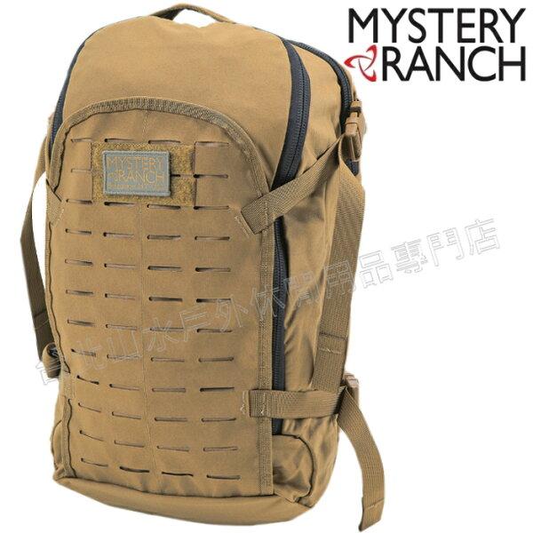 MysteryRanch神秘農場軍規背包戰術包城市後背包筆電包生存遊戲SuperSlick22L61162狼棕美國製