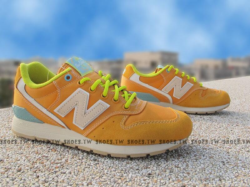 《超值1380》Shoestw【MRL996GD】NEW BALANCE NB996 橘麂皮 柳橙 男女都有