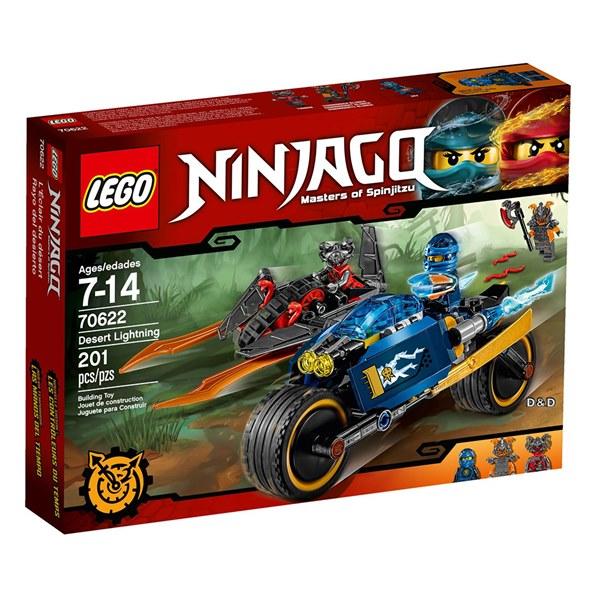 樂高積木 LEGO《 LT70622 》NINJAGO 旋風忍者系列 - Desert Lightning