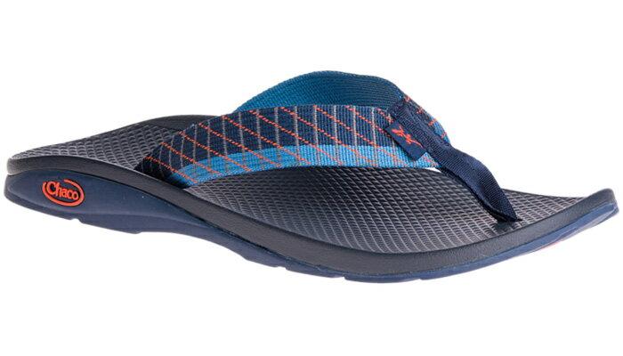 ├登山樂┤美國Chaco 男戶外休閒涼鞋/夾腳拖鞋-沙灘款 滑行藍 #  CH-ETM01HD26