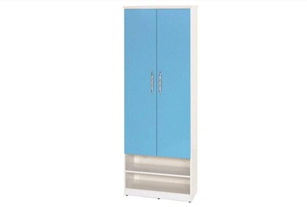 【石川家居】881-04(藍白色)鞋櫃(CT-327)#訂製預購款式#環保塑鋼P無毒防霉易清潔