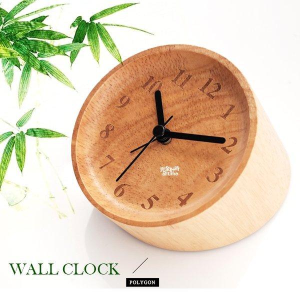 【完全計時】手錶館│極致典藏 油壓式機芯名品設計 質感竹子 矽膠鐘 靜音 大自然 座鐘 兩用 熊貓都喜歡 桌上的小確興