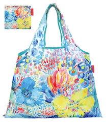 DESIGNERS JAPAN 日本PRAIRIEDOG摺疊購物袋(Art Flower) ★2way shopping bag