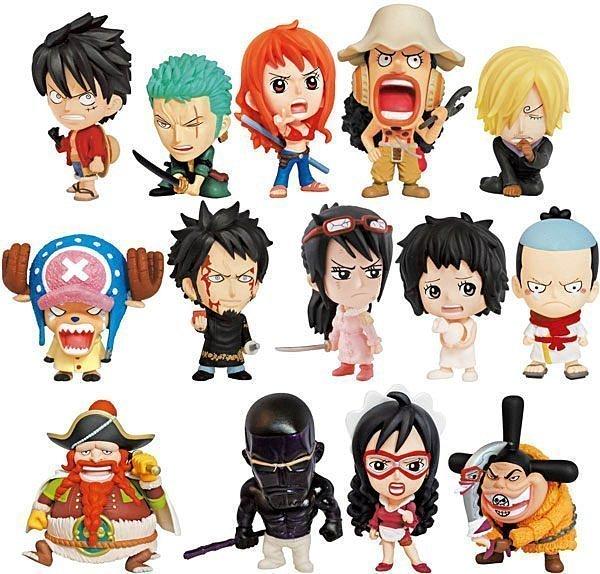 【UNIPRO】日版金證  航海王 海賊王 One Piece 龐克哈薩德篇 Vol.15 MINI BIG HEAD 公仔 盒玩 整合販售 共15個