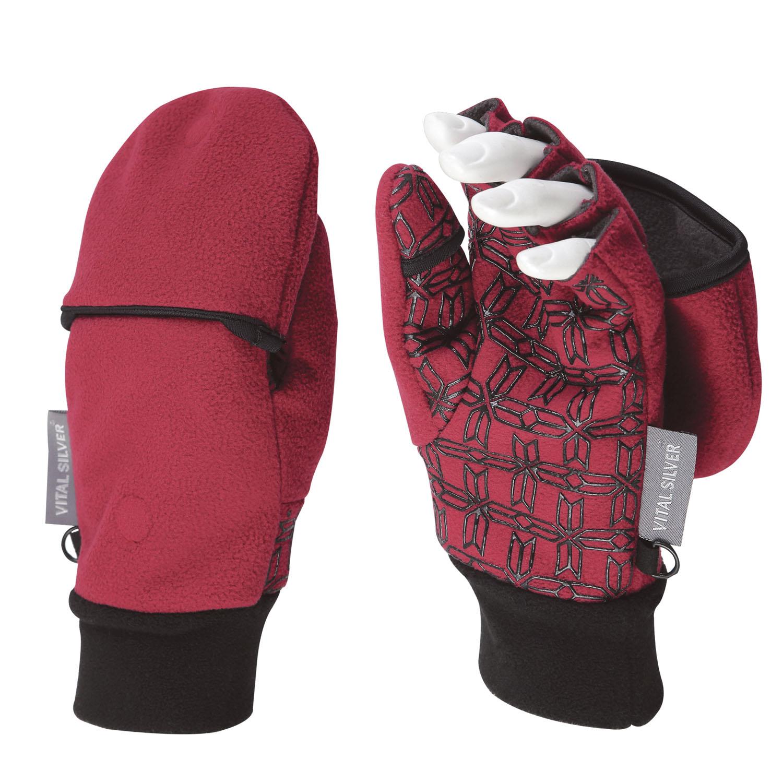 防風保暖兩用止滑半指手套