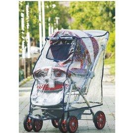 【淘氣寶寶】欣康SYNCON 兒童手推車專用雨罩-單人雨罩 (適用多款推車雨罩)