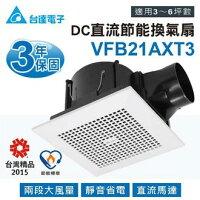 報稅季,網購優惠省錢密技免運費 台達電子 VFB21AXT3 通風扇 換氣扇 循環扇 DC直流馬達 浴室抽風扇