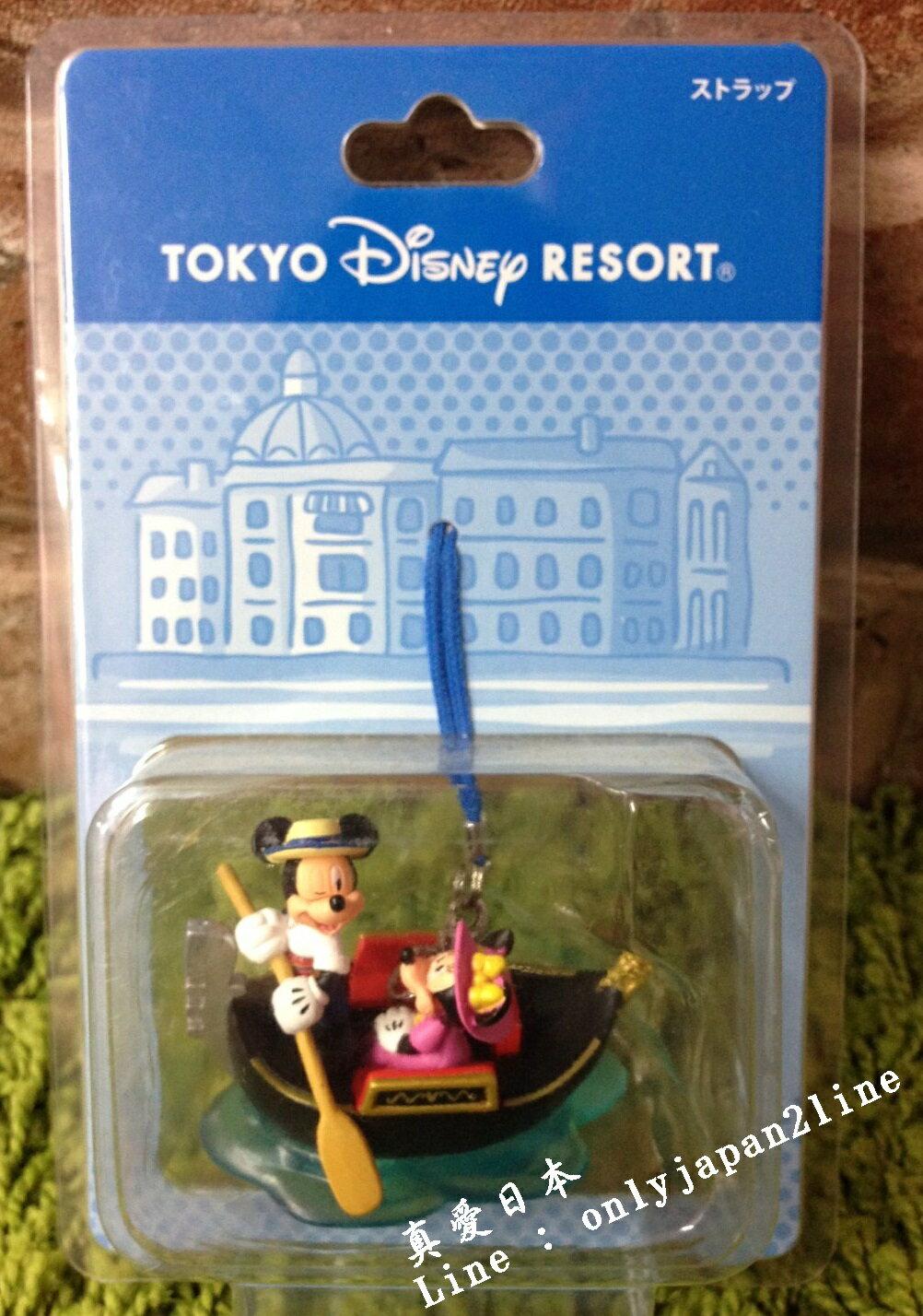 【真愛日本】16042100074 樂園遊樂場景吊飾-貢多拉 迪士尼 Disney 場景 吊飾 擺飾 限量