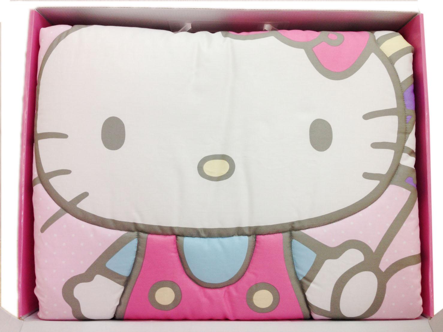 <br/><br/>  【真愛日本】16083100002四季被禮盒組  三麗鷗 Hello Kitty 凱蒂貓 嬰兒用品 正品 被子  預購<br/><br/>