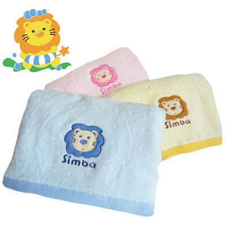 【寶貝樂園】小獅王辛巴和風高級嬰兒快乾浴巾