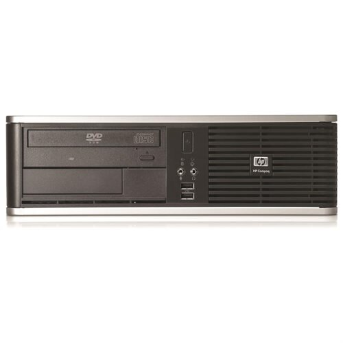 HP dc7800 Desktop Computer - Intel Core 2 Duo 3 GHz - 4 GB - 160 GB HDD - Windows 7 Professional - Small Form Factor - Gray - Refurbished - DVD-Writer 0