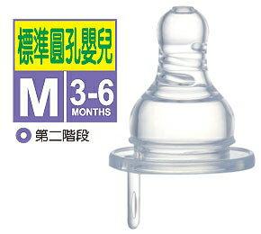 台灣【Simba 小獅王】防脹氣標準圓孔奶嘴-S/M/L 1