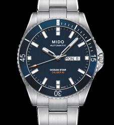 MIDO 美度 Ocean Star 200m潛水機械腕錶M026.430.11.041.00-藍/42mm