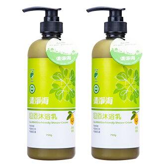 (2入) 清淨海 環保沐浴乳750g