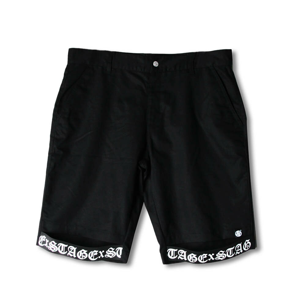 STAGE SC TAPES SWEAT SHORTS 黑色 2