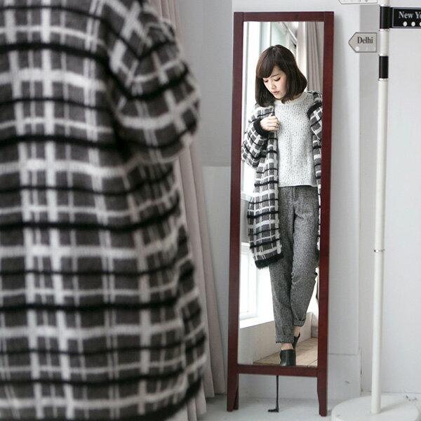 鏡子 / 立鏡 / 全身鏡 / 化妝鏡 玩彩美背松木全身立鏡(五色) MIT台灣製 現領優惠券 完美主義【I0114】 6