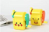 Pokemon:精靈寶可夢到X射線【C121178】神奇寶貝 寶可夢 皮卡丘削鉛筆機-2款選1,削鉛筆機/打卡鐘/計算機/釘書機/鉛筆機/削筆器/磨蕊器/電動削鉛筆機