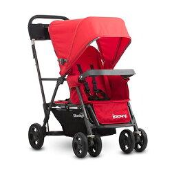 新款 美國 joovy 新款 輕量級 雙人推車 / 兄弟車【紅色】【紫貝殼】