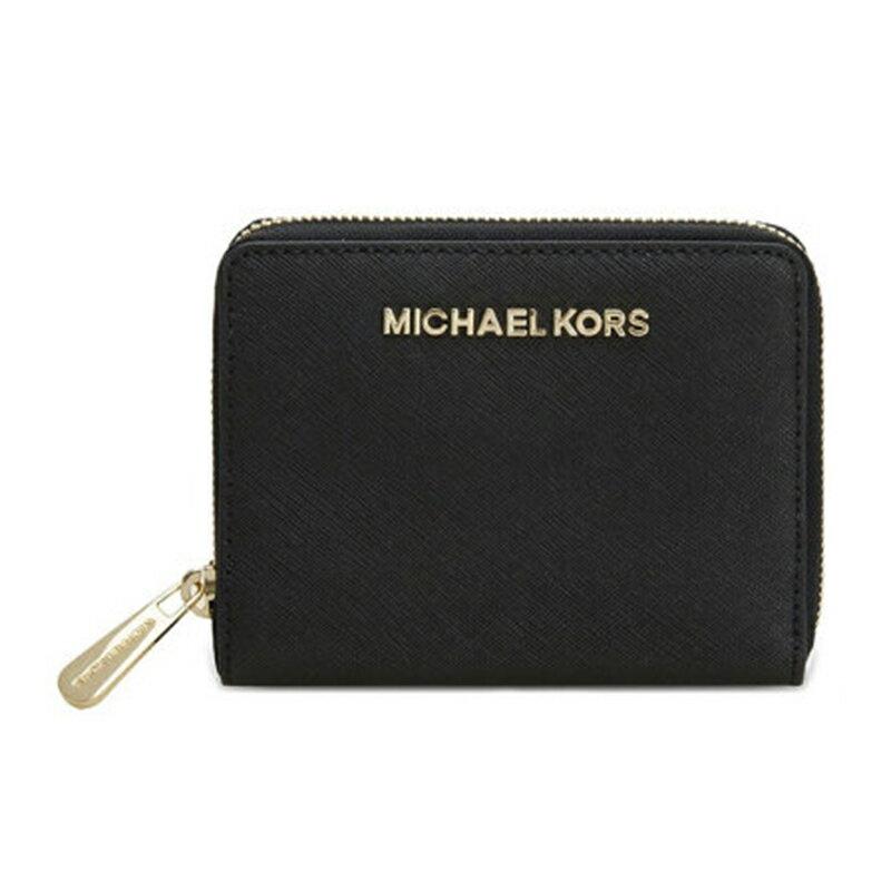 Michael KorsMK 32S4GTVZ1L 真皮短夾MK女士短款手拿包零錢包
