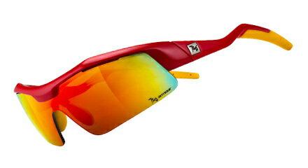 【露營趣】中和 720 armour Tack 飛磁換片 PC防爆 自行車眼鏡 風鏡 運動太陽眼鏡 防風眼鏡 B318-10茶紅色多層鍍膜