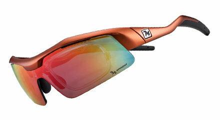 【露營趣】中和 720 armour Tack 飛磁換片 自行車眼鏡 風鏡 運動太陽眼鏡 防風眼鏡 B318-5 砂鈦金橘