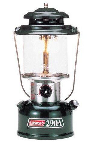 【露營趣】中和安坑 Coleman CM-0290 290氣化大雙燈 露營燈 電子點火 使用去漬油 露營 野炊 烤肉