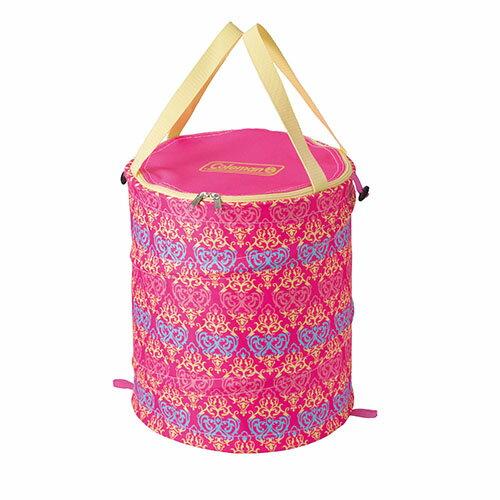 【露營趣】中和安坑 美國 Coleman CM-21913 紅葉圖騰萬用魔術桶 裝備袋 RV桶 雜物袋 垃圾桶