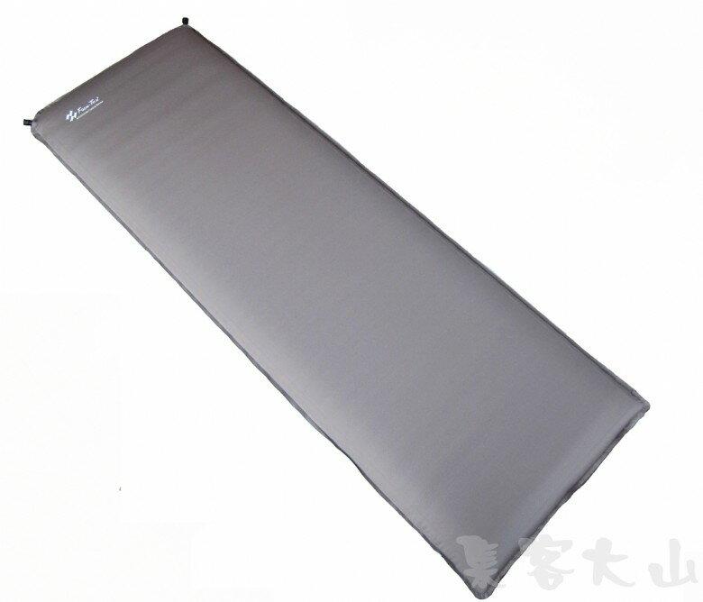 【露營趣】中和安坑 Foam-Tex 8.9cm 台製最新 自動充氣睡墊 保暖睡墊 露營睡墊 止滑耐用 非ICE EAGLE exped