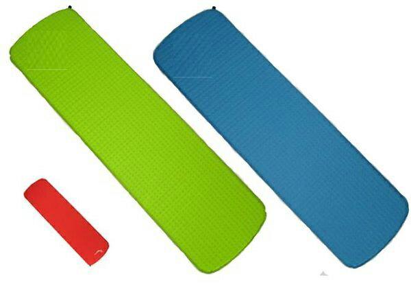 【露營趣】中和 Foam-Tex 2.5cm 台製超輕610g 自動充氣睡墊 保暖睡墊 登山睡墊 露營睡墊 充氣睡墊 非ICE EAGLE exped