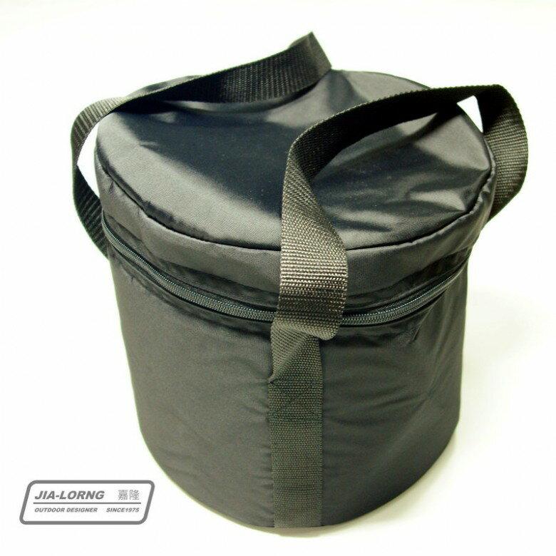 【露營趣】台灣製 嘉隆 BG-001 加厚 大型鍋具袋 收納袋 裝備袋 鍋袋