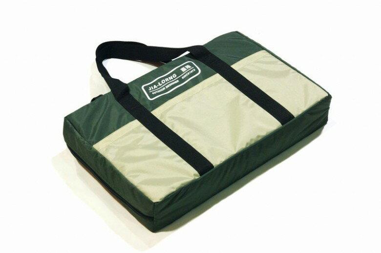 ~露營趣~中和 嘉隆 製 卡式爐 雙口爐 外袋 收納袋 手提袋 BG~007